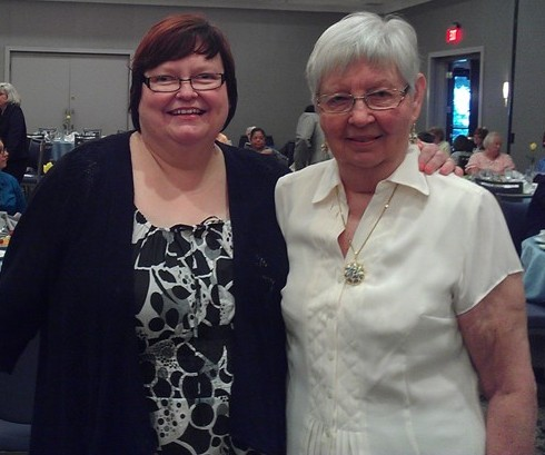 Susan and June Griffith good cropped
