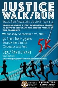 Justice Walk Run Flyer 2016